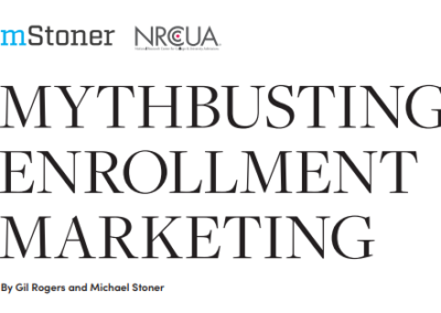 Mythbusting Enrollment Marketing Report