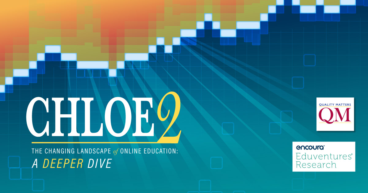 [Infographic] The Changing Landscape of Online Education (CHLOE) 2018: A Deeper Dive